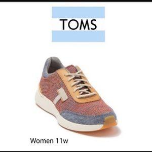 TOMS Women's Arroyo Ortholite Sneakers BNWT